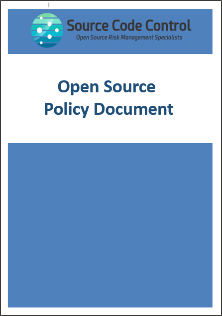 Open Source Policy Document